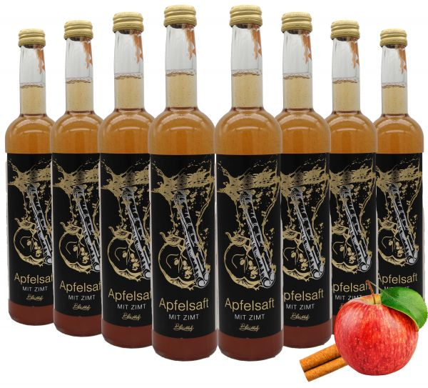 Bleichhof Apfelsaft mit Zimt (8x 0,47l)