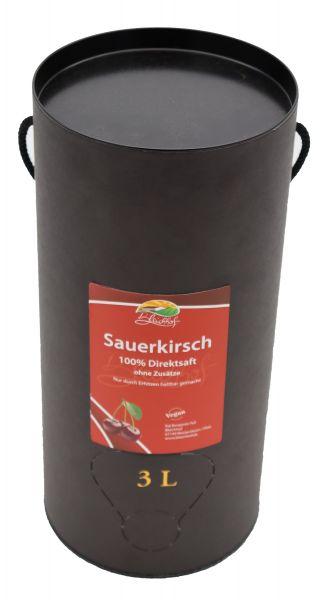 Bleichhof Sauerkirschsaft – 100% Direktsaft OHNE Zuckerzusatz, Bag in box (1x 3l)