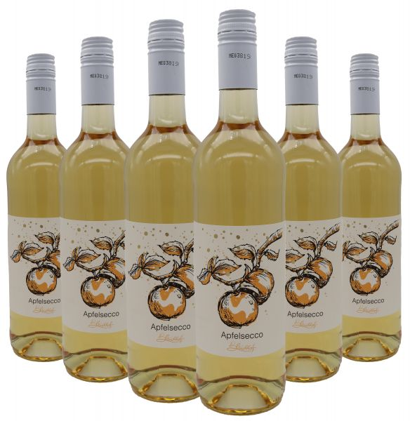 Bleichhof Apfelsecco, 6er Pack (6x 0,75l) 10,5%vol.