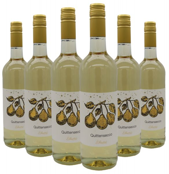 Bleichhof Quittensecco 6er Pack (6x 0,75l) 10,5% vol.